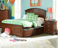 Impressions Panel Bed with Trundle Full Size | Legacy Classic | LC-2880-4104KX