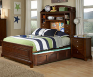 Impressions Bookcase Bed with Trundle Full Size | Legacy Classic | LC-2880-4814KX