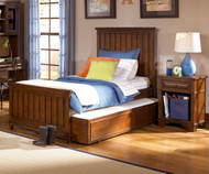 Dawson's Ridge Panel Bed Twin Size   Legacy Classic   LC-2960-4103K