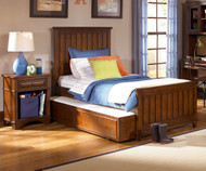 Dawson's Ridge Panel Bed with Trundle Twin Size | Legacy Classic | LC-2960-4103KX