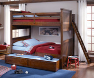 CLEARANCE Dawson's Ridge Bunk Bed Full over Full with Storage Drawer Unit | Legacy Classic | LC-2960-8506K-SD