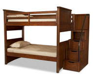 Dawson's Ridge Staircase Bunk Bed Full over Full | Legacy Classic | LC-2960-8506K-Stairs