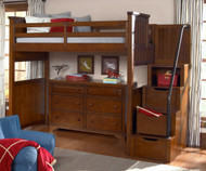 Dawson's Ridge Staircase Loft Bed Full Size | Legacy Classic | LC-2960-8520K-Stairs