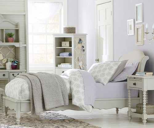 Inspirations Avalon Platform Bed Twin Size | Legacy Classic | LC 383X 4803K