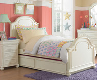 CLEARANCE Charlotte Panel Bed Twin Size | Legacy Classic | LC-3850-4103K-SD