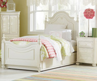 Charlotte Poster Bed with Trundle Twin Size | Legacy Classic | LC-3850-4203KX
