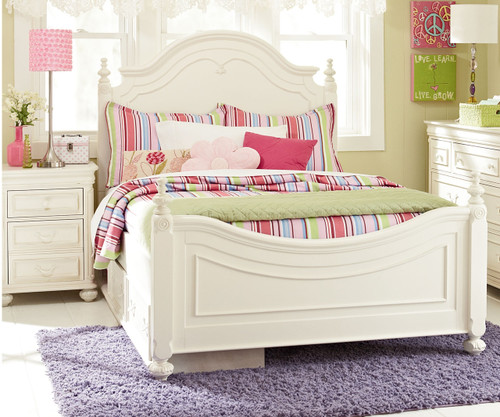 Charlotte Poster Bed Full Size | Legacy Classic | LC 3850 4204K