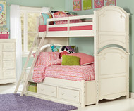 Charlotte Bunk Bed Twin over Full | Legacy Classic | LC-3850-8140K
