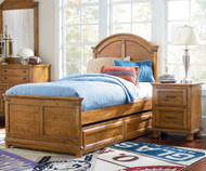 Bryce Canyon Panel Bed Twin Size | Legacy Classic | LC-3900-4103K