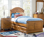 Bryce Canyon Panel Bed with Trundle Twin Size | Legacy Classic | LC-3900-4103KX