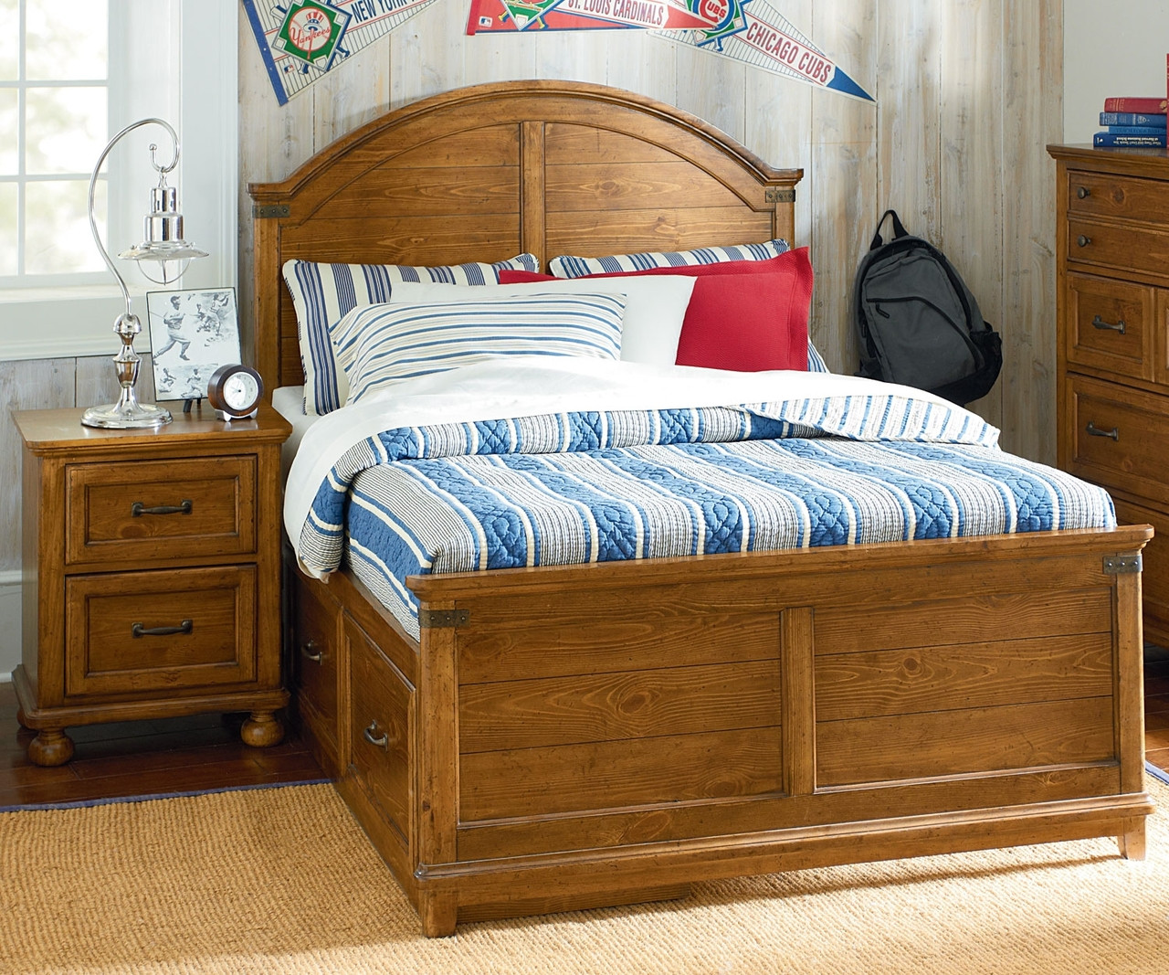 Bryce Canyon Full Size Panel Bed 3900 4104K Legacy Classic Kids