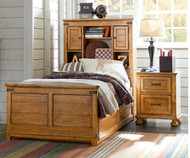 Bryce Canyon Bookcase Bed Twin Size | Legacy Classic | LC-3900-4803K