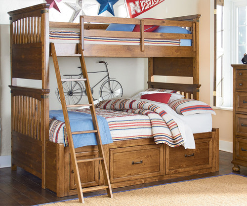 Bryce Canyon Bunk Bed Twin over Full | Legacy Classic | LC-3900-8140K - Bryce Canyon Twin Over Full Bunk Bed 3900-8140K Legacy Classic