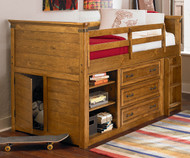 Bryce Canyon Storage Loft Bed | Legacy Classic | LC-3900-8333K
