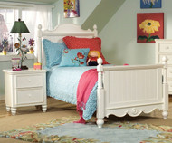 Summer Breeze Scroll Top Poster Bed Twin Size | Legacy Classic | LC-481-4103K