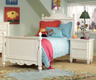 Summer Breeze Scroll Top Poster Bed Full Size | Legacy Classic | LC-481-4104K