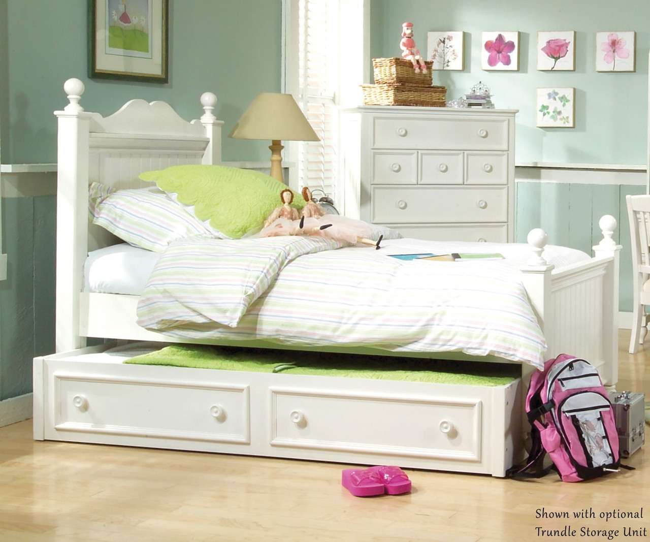 summer breeze twin size low poster bed 481 4203k legacy