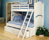 Summer Breeze Twin over Full Bunk Bed | Legacy Classic | LC-481-8106K