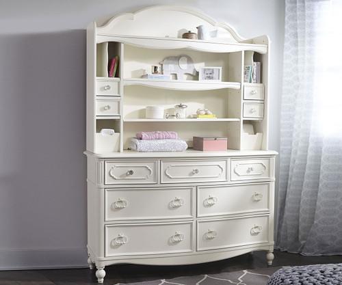 Harmony Drawer Dresser with Hutch 49101100 Legacy Classic Kids