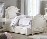 Harmony Summerset Low Poster Bed Twin Size | Legacy Classic | LC-4910-4103K