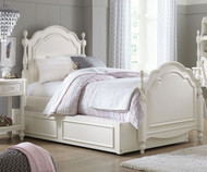 Harmony Summerset Low Poster Bed with Trundle Twin Size | Legacy Classic | LC-4910-4103K-9500