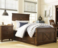 Big Sur Highlands Panel Bed with Trundle Twin Size | Legacy Classic | LC-4920-4103K-9500