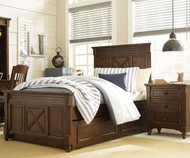 Big Sur Highlands Panel Bed with Trundle Full Size | Legacy Classic | LC-4920-4104K-9500