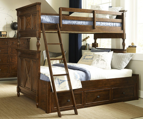 legacy bedroom furniture. Big Sur Bixby Twin over Full Bunk Bed  Legacy Classic LC 4920 8140K