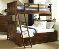 Big Sur Bixby Twin over Full Bunk Bed | Legacy Classic | LC-4920-8140K
