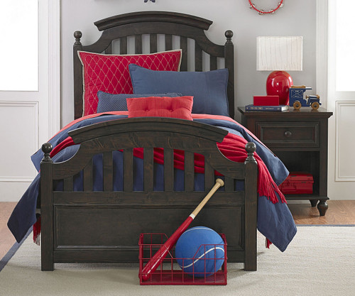 Academy Panel Bed Twin Size Molasses | Legacy Classic | LC-5810-4103K