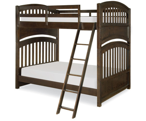 Academy Full over Full Bunk Bed Molasses | Legacy Classic | LC-5810-8150K