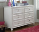 Academy 6 Drawer Dresser White | Legacy Classic | LC-5811-1100