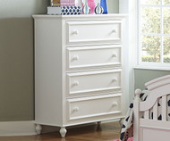 Academy 4 Drawer Chest White | Legacy Classic | LC-5811-2200