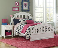 Academy Panel Bed Twin Size White | Legacy Classic | LC-5811-4103K