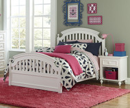 Academy Panel Bed Full Size White | Legacy Classic | LC-5811-4104K