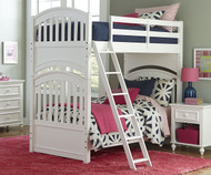 Academy Full over Full Bunk Bed White | Legacy Classic | LC-5811-8150K