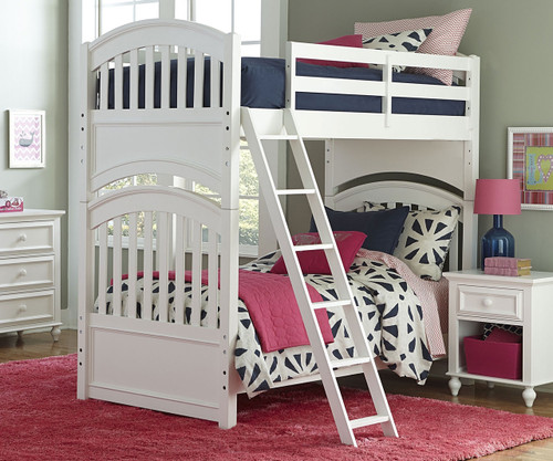 Academy Full Over Bunk Bed White