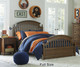 Academy Panel Bed Twin Size Cinnamon | Legacy Classic | LC-5812-4103K