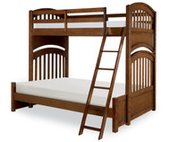 Academy Twin over Full Bunk Bed Cinnamon | Legacy Classic | LC-5812-8140K