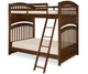 Academy Full over Full Bunk Bed Cinnamon | Legacy Classic | LC-5812-8150K