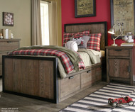 Fulton County Panel Bed Twin Size | Legacy Classic | LC-5900-4103K