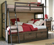 Fulton County Twin over Full Bunk Bed   Legacy Classic   LC-5900-8140K