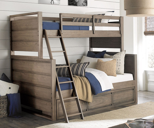 Big Sky Twin Over Full Bunk Bed | Legacy Classic | LC 6810 8140K