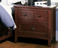 Riley 2 Drawer Nightstand | Magnussen Home | MHY1873-01
