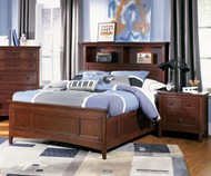 Riley Bookcase Bed Twin Size | Magnussen Home | MHY1873-58