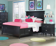Bennett Panel Bed with Storage Twin Size   Magnussen Home   MHY1874-54X