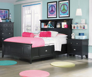 Bennett Bookcase Bed with Storage Full Size   Magnussen Home   MHY1874-68X