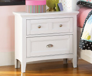 Kenley 2 Drawer Nightstand | Magnussen Home | MHY1875-01