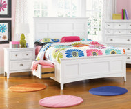 Kenley Panel Bed with Storage Twin Size | Magnussen Home | MHY1875-54X
