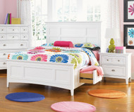 Kenley Panel Bed with Storage Full Size | Magnussen Home | MHY1875-64X